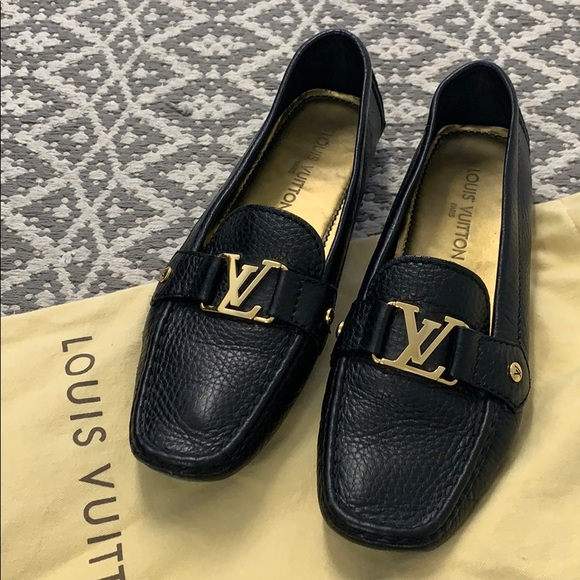 louis vuitton loafers womens